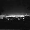 City at night (New Year's), 1951