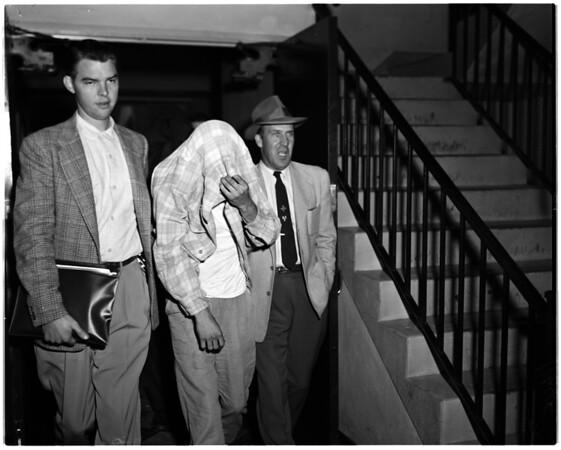 Burglary -- narcotics, 1955
