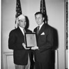 Veterans... Veterans of Foreign Wars award given, 1951