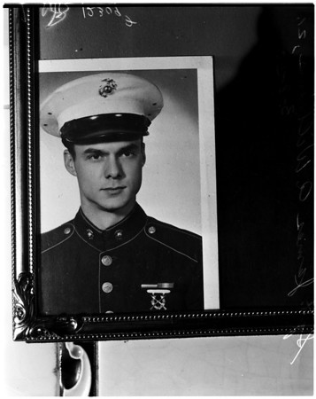 Missing Marine airman (Okinawa plane crash), 1958