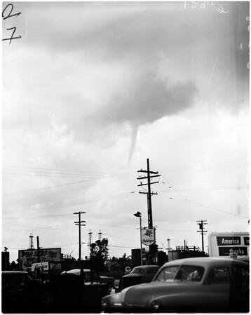 Long Beach tornado, 1958
