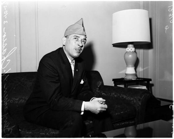 Chasin press conference, 1958.
