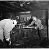 Fire at 14762 Oxnard Boulevard in Van Nuys, 1951