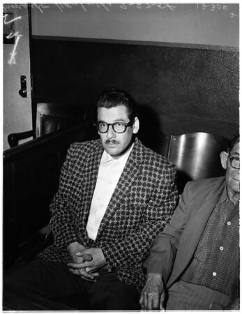 Murder Preliminary, 1958.