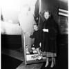 Bergen arrival, 1951