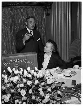 Welfare council annual meeting, 1951