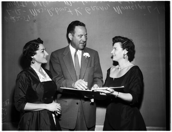 University of Southern California Law School graduates reunion, 1954