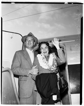 Return from Honolulu, 1952