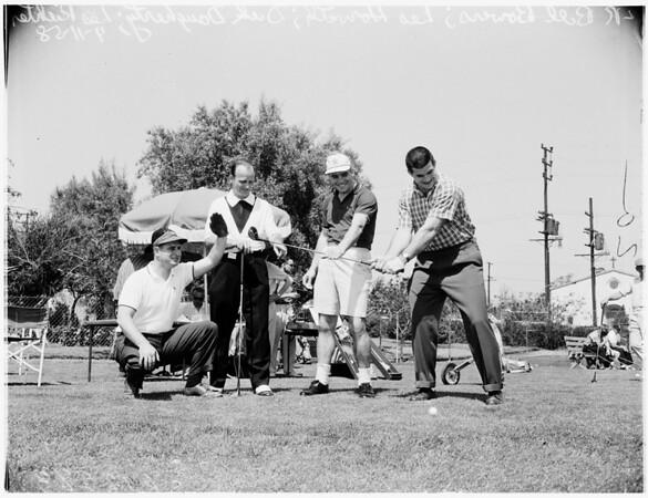 Golf - Rams Playing, 1958