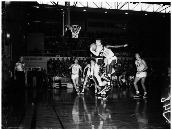 Basketball -- UCLA versus Oregon State, 1958