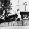 Tennis -- Joe Alstan, ca. 1950