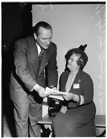 Council Conference ...Southern Division, California Council of Republican Women, 1951