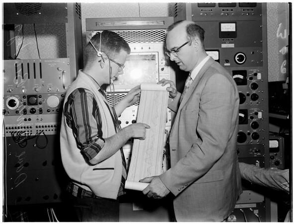 Satellite watchers, 1958