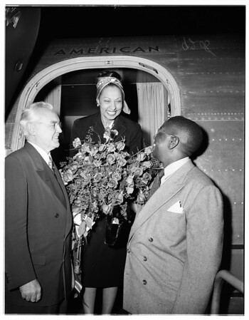 Josephine Baker, 1951