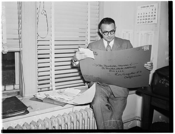 Federal Crime Probe, 1952
