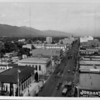 Colorado Boulevard from Marengo Avenue, 1930