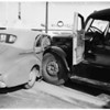 Truck-auto wreck ...12th Street and Flower Street, 1951