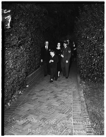 Wheeler funeral, 1951