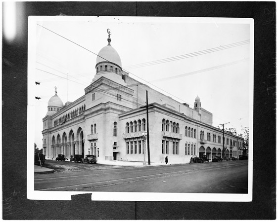 Shrine Auditorium (copy negative), 1956