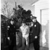 Bandit suspect arrested, 1956