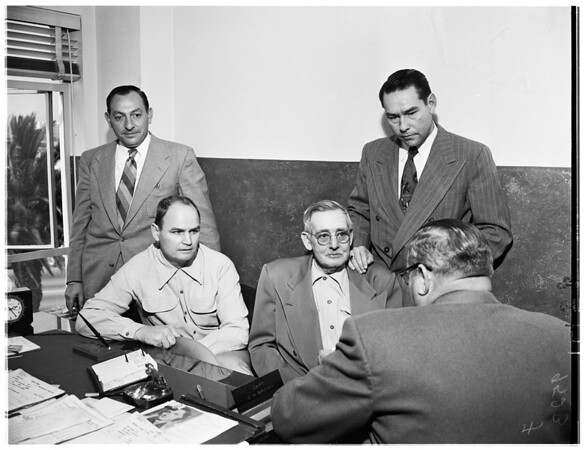 Mystery death suspects, 1952