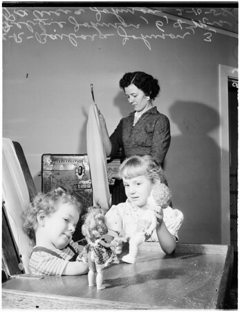 Crippled child, 1958