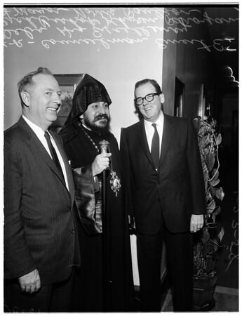Visit to Mayor, 1958