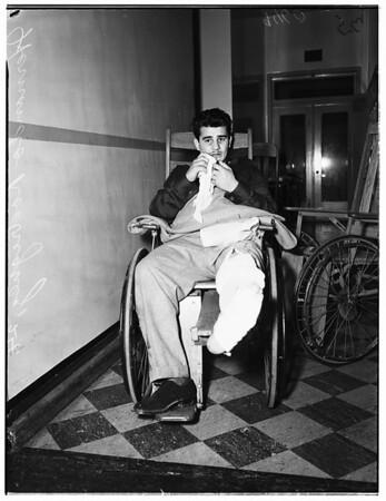 Holdup victim, 1952