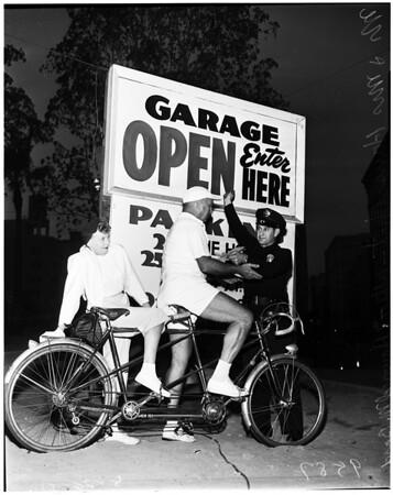 Pershing square Garage, 1952