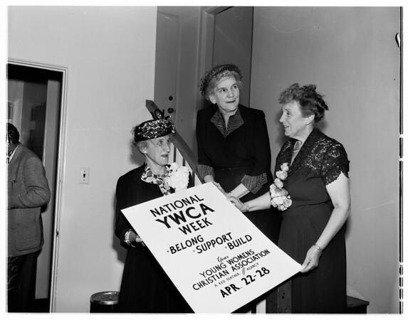 YWCA poster, 1951