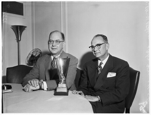 Beaver Press Conference, 1958