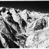Bishop snow slide, 1952