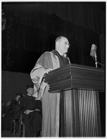 University of California, Los Angeles charter day exercises, 1952