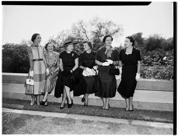 Mrs. Ralph Cousins, 1951