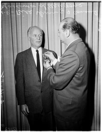 Italian consul, 1958