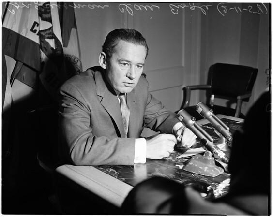 Candidate for U.S. Senator, 1958