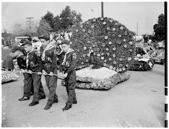 Camellia Festival parade, 1958