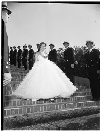 """University of California, Los Angeles """"Homecoming Queen"""", 1951"""