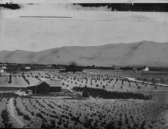 Pasadena as it appeared in 1876, 1929