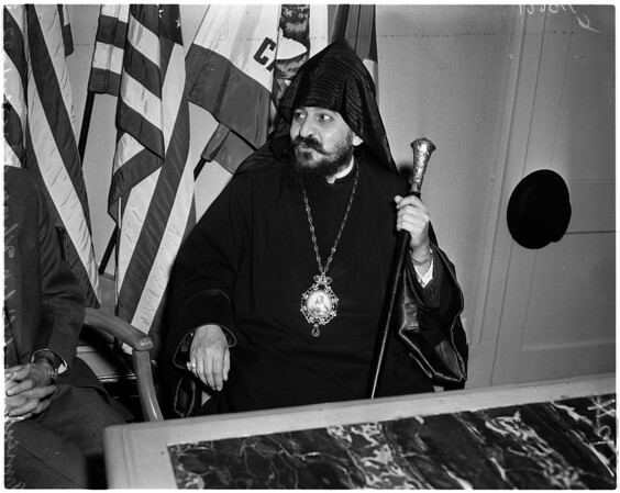 Armenian Archbishop, 1958