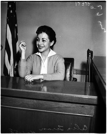 Divorce case, 1958.