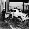 Ramona Freeway accident at State Street,  1952