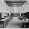 The magazine and newspaper reading room of the Pasadena Public Library, ca. 1930
