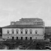 The first photo of Pasadena's Civic Auditorium, 1921.