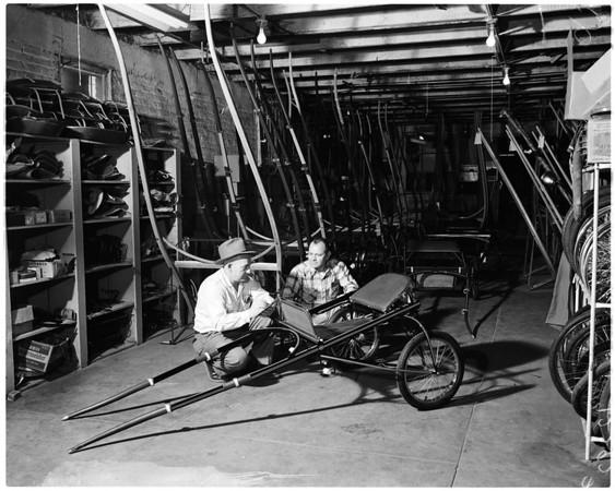 Wilform Buggy Works in Long Beach, 1958