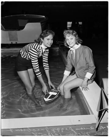 Boats -- Western Boat Show, 1958