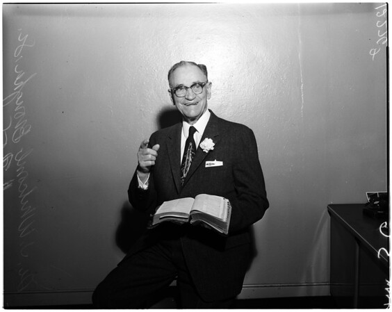 Doctor J. Whitcomb Brougher Senior birthday