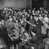 "First ""Teen Session"" held in the auditorium of the Church of the Blessed Sacrament, 1945"