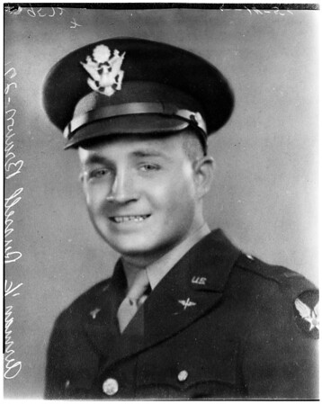 Airman First Class Russell Brown, 27 years old -- air crash victim (copy), 1952