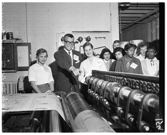 High school press, 1958
